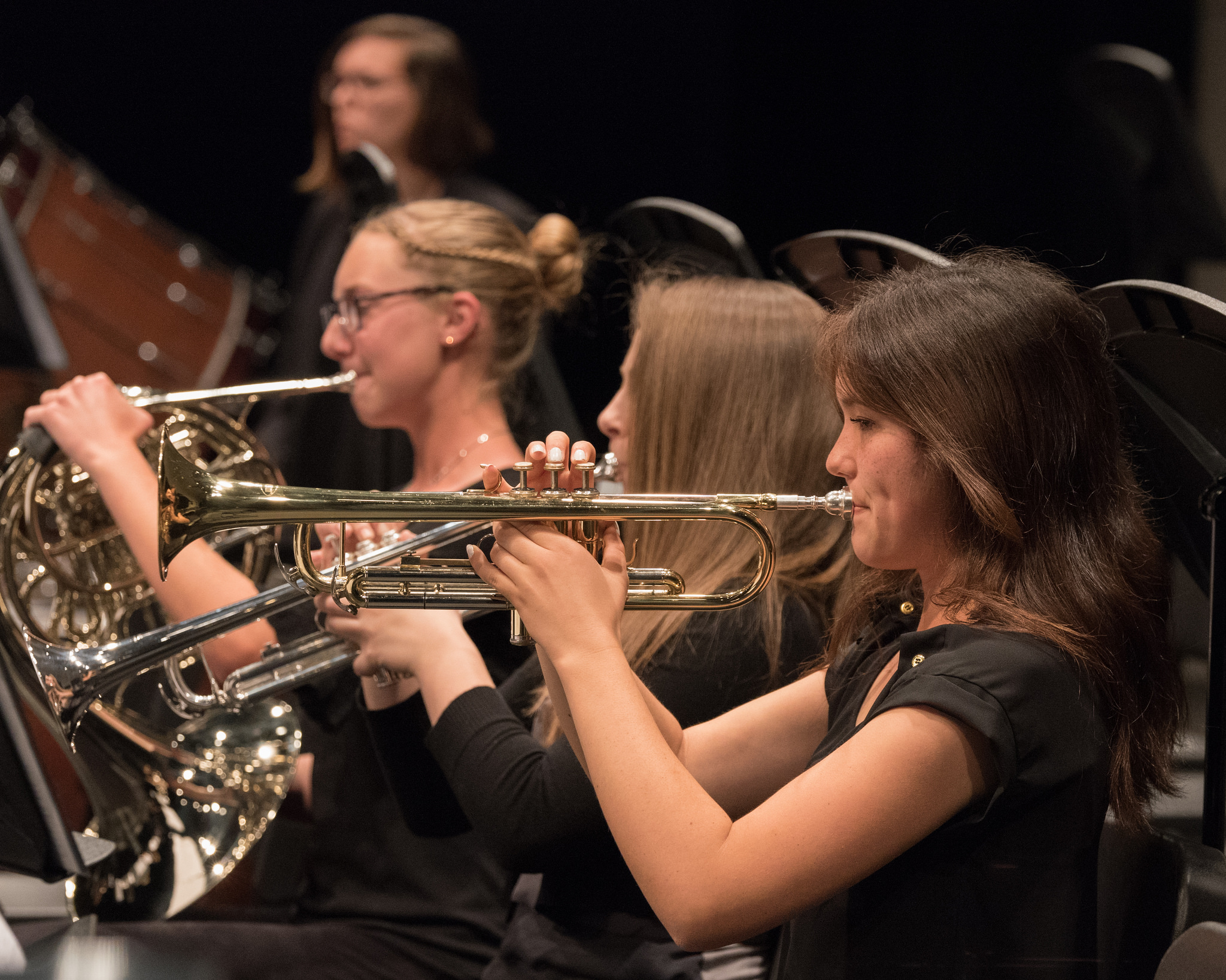 Temecula Valley Youth Symphony brass
