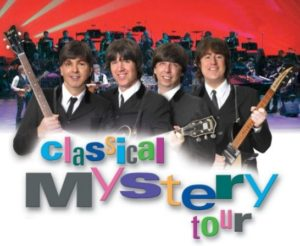 CLASSICAL MYSTERY TOUR - The World's Premier Beatles Tribute Show! @ Golden Bears Theater - Temecula Valley High School