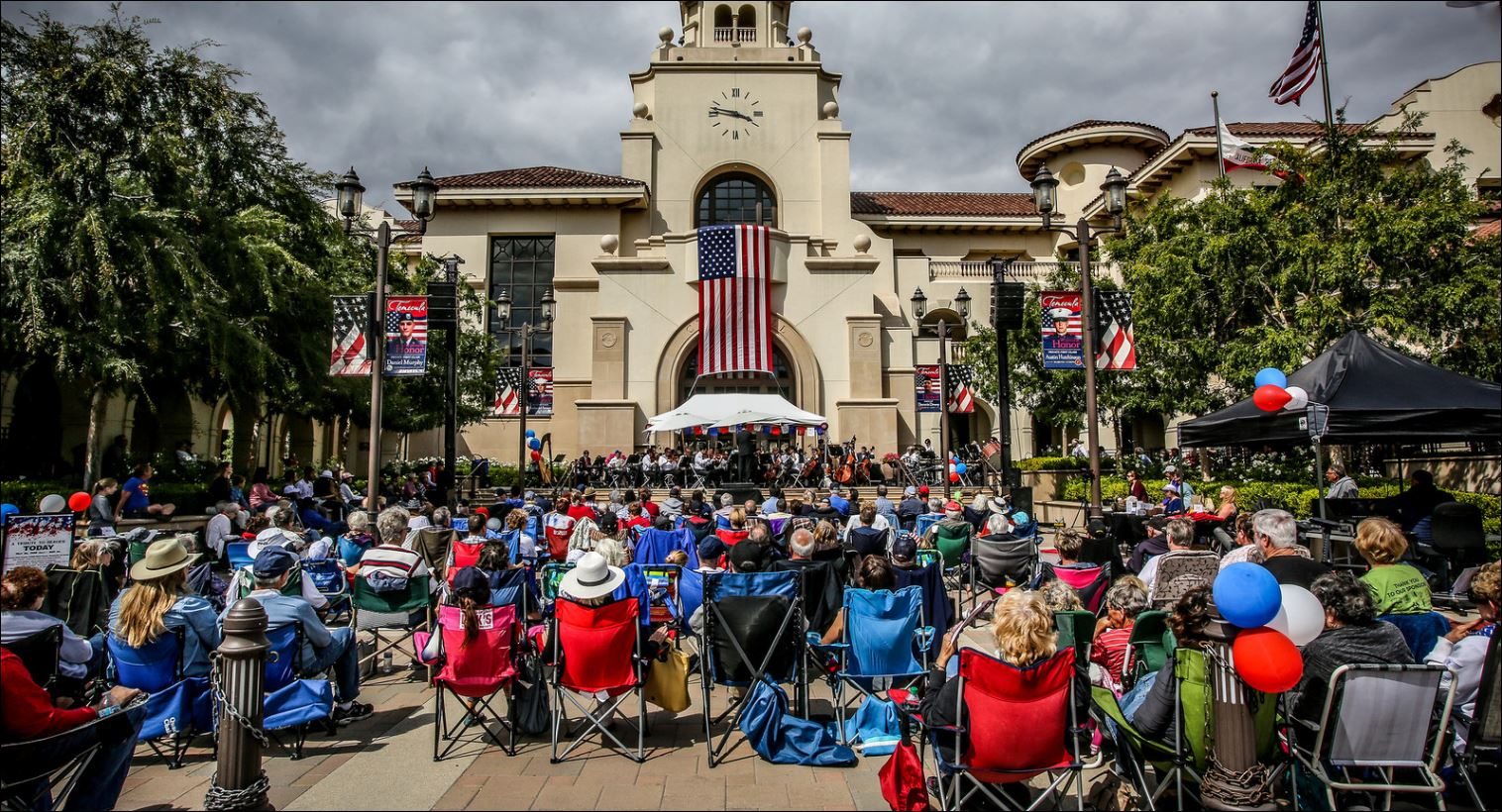 Temecula Valley Symphony performs for the City of Temecula