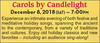 CAROLS BY CANDLELIGHT - Chorus Chamber Concert @ Grace Presbyterian Church
