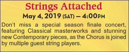 STRINGS ATTACHED - Chorus Chamber Concert @ Grace Presbyterian Church