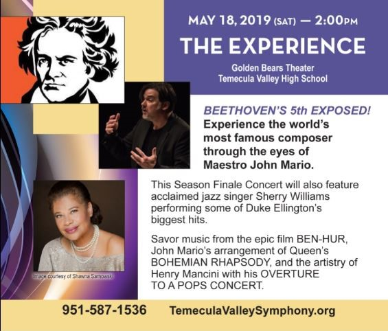 THE EXPERIENCE!  From Beethoven to Ellington @ Golden Bears Theater - Temecula Valley High School