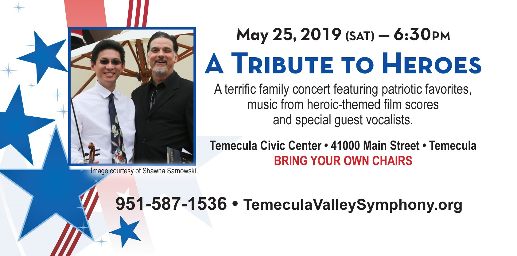 A TRIBUTE TO HEROES! @ Temecula Civic Center