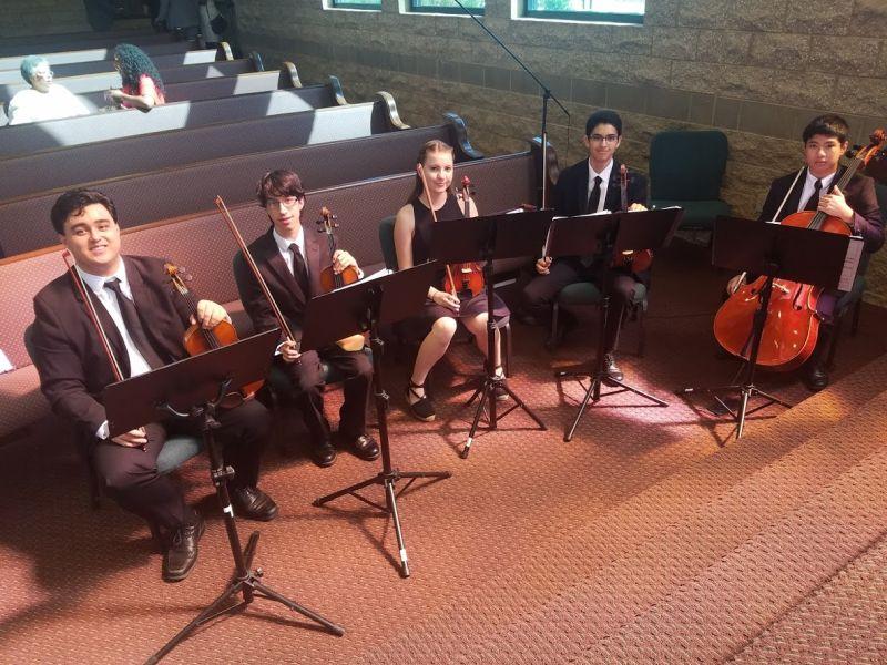 Youth Symphony Students