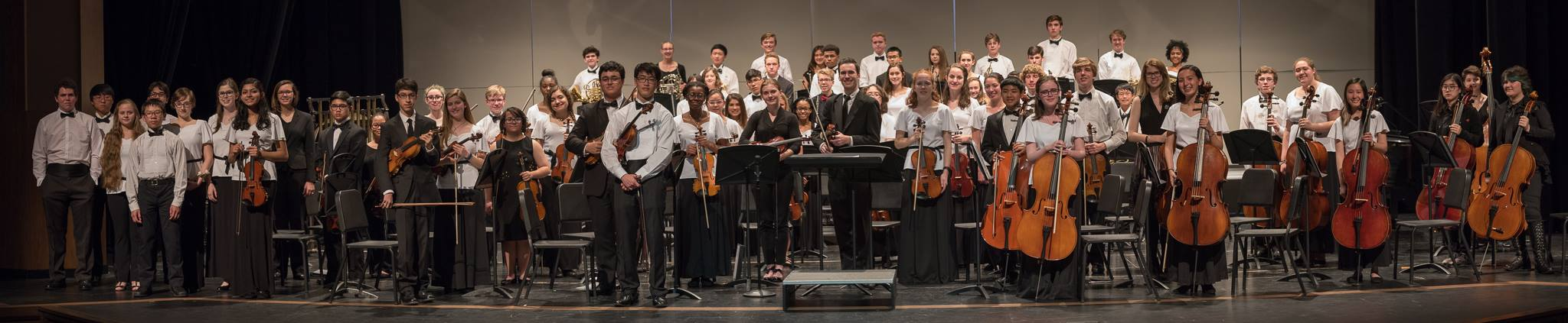 Temecula Valley Youth Symphony and Chamblee H.S. Orchestra from Georgia