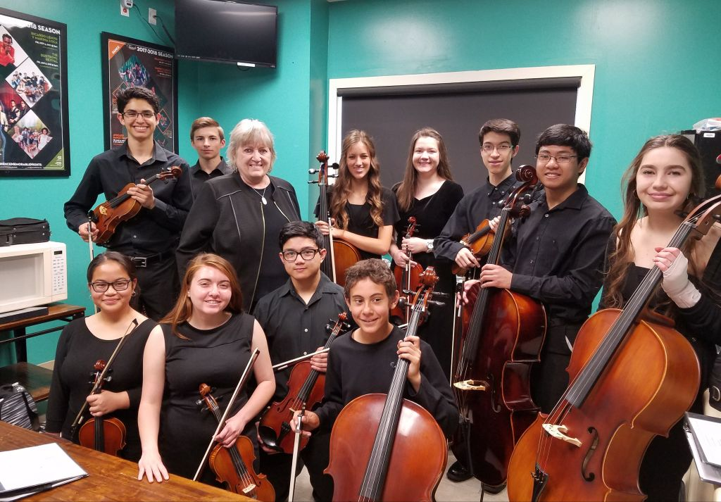 Youth Symphony Advanced Strings
