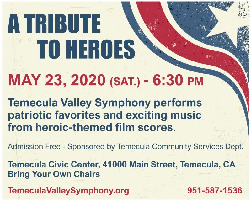 Memorial Day Concert Temecula Valley Symphony