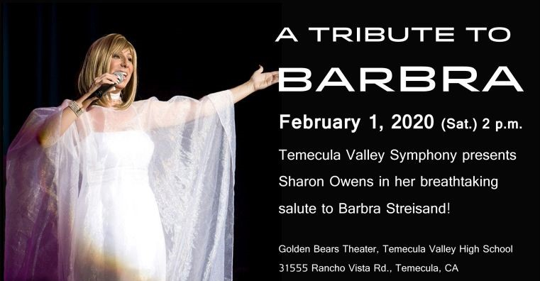 A TRIBUTE TO BARBRA @ Golden Bears Theater - Temecula Valley High School