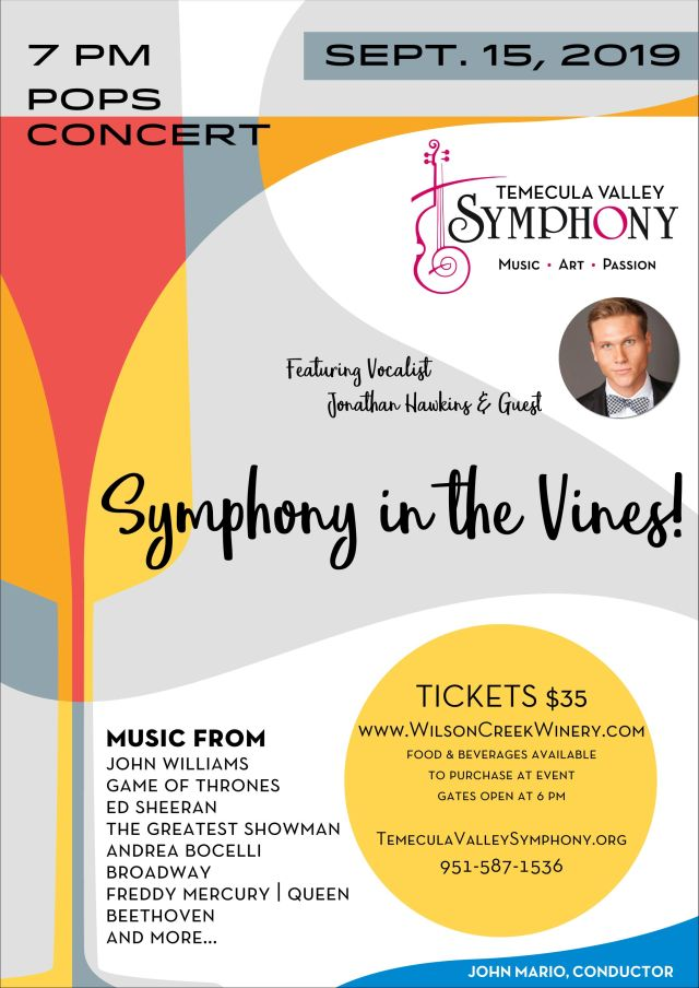 Wilson Creek Concert Temecula Valley Symphony