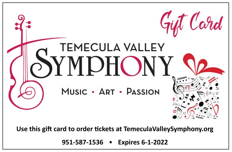 Gift Card for Symphony Tickets