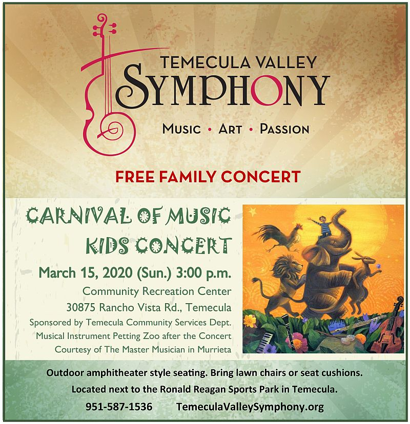 carnival of music free concert