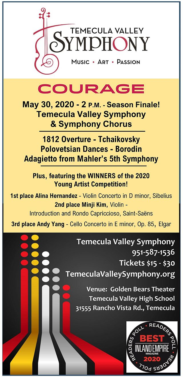 May 30 Concert Temecula Valley Symphony