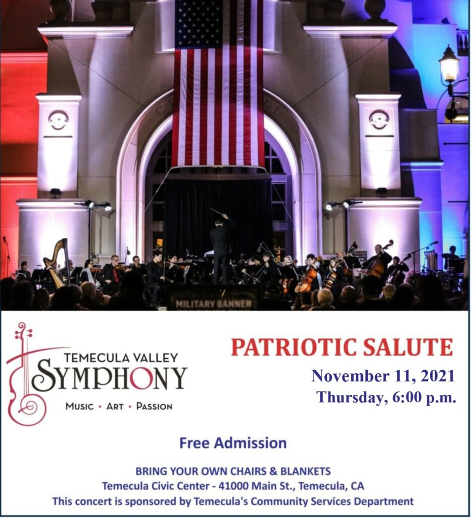 Temecula Veterans Day Concert 2021